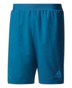 adidas レアルマドリード 17/18 UEFA CL トレーニング ショーツ Blue