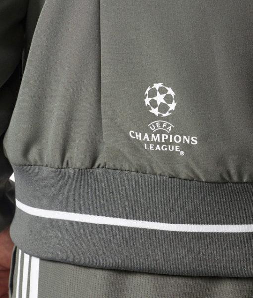 adidas バイエルン ミュンヘン 17/18 UEFA CL トレーニング プレゼンテーション ジャケット Green