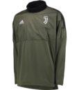 adidas ユベントス 17/18 UEFA CL トレーニング ハイブリッド トップ Green