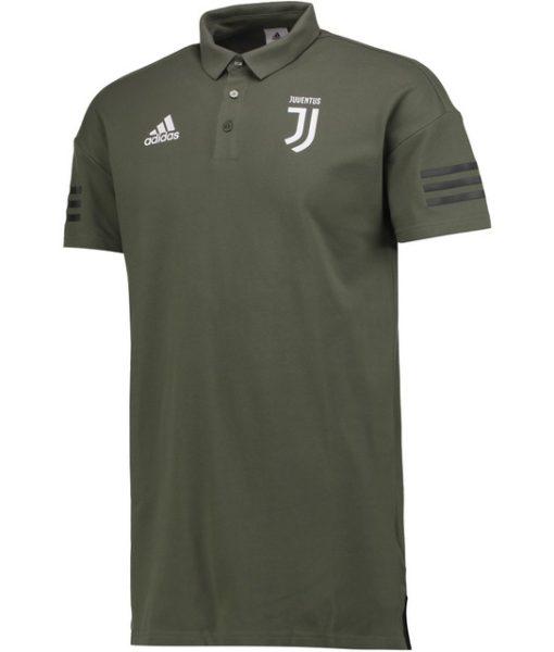 adidas ユベントス 17/18 UEFA CL トレーニング ポロシャツ Green 1