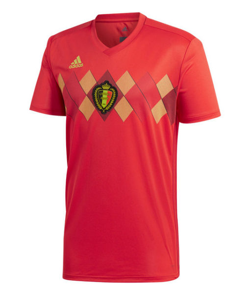 adidas ベルギー 2018 ホーム シャツ  1