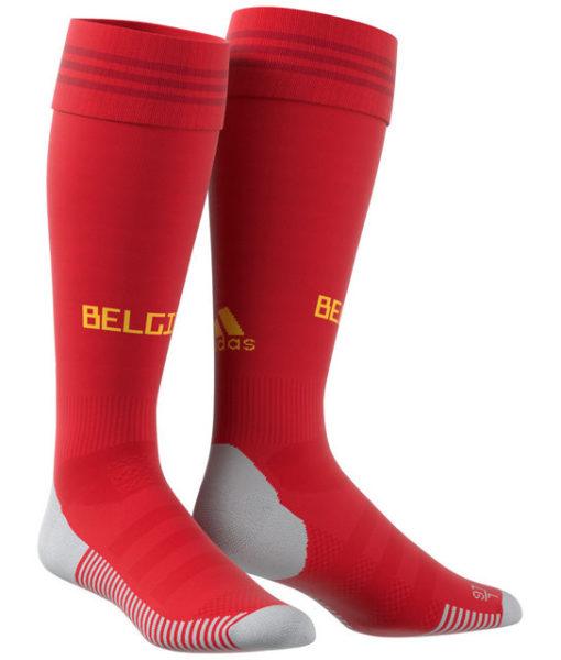 adidas ベルギー 2018 ホーム ソックス 1