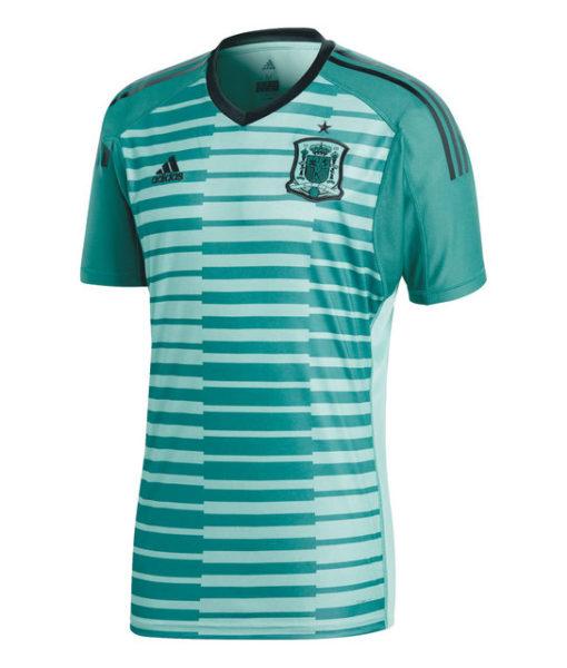 adidas スペイン 2018 ホーム ゴールキーパー シャツ  1
