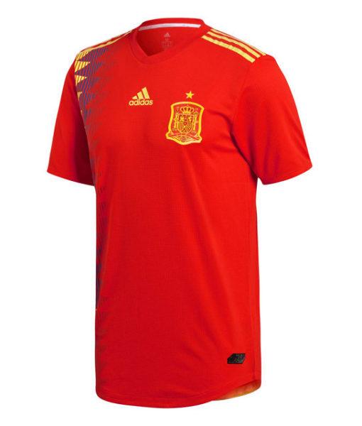 adidas スペイン 2018 オーセンティック ホーム シャツ  1