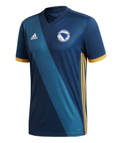 adidas ボスニアヘルツェゴビナ 2018 ホーム シャツ  1