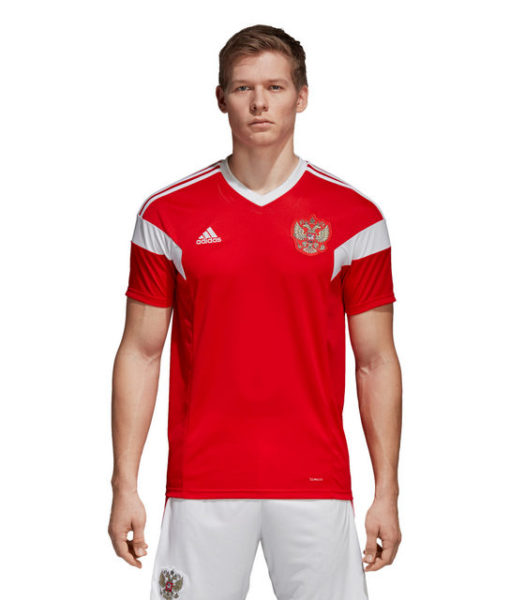 adidas ロシア 2018 ホーム シャツ  1