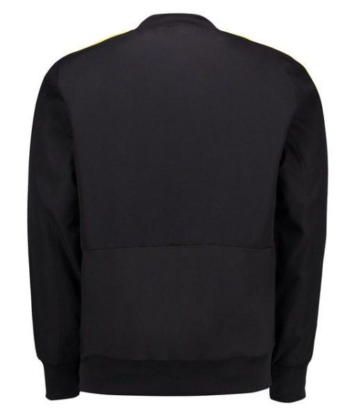 adidas ベルギー 17/18 トレーニング プレゼンテーション ジャケット Black