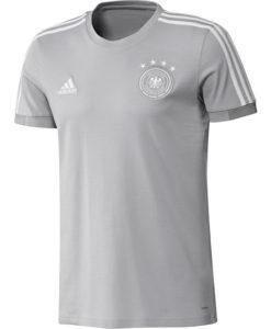 adidas ドイツ 17/18 トレーニング Tシャツ Grey