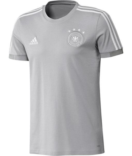 adidas ドイツ 17/18 トレーニング Tシャツ Grey 1