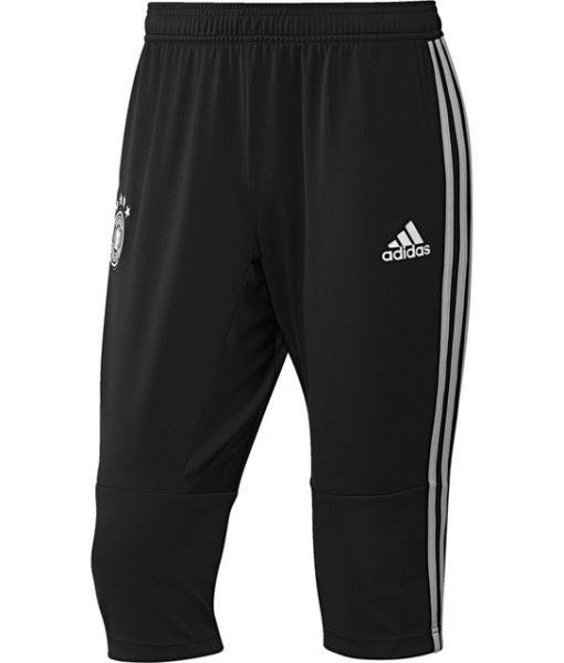 adidas ドイツ 17/18 トレーニング クォーター パンツ Black 1