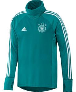 adidas ドイツ 17/18 トレーニング ウォームアップ トップ Green
