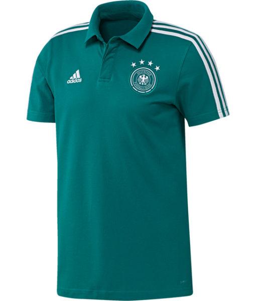 adidas ドイツ 17/18 トレーニング ポロシャツ Green 1