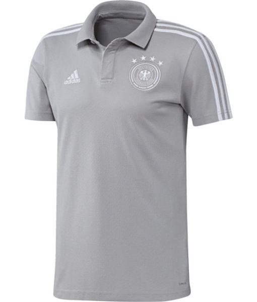 adidas ドイツ 17/18 トレーニング ポロシャツ Grey 1