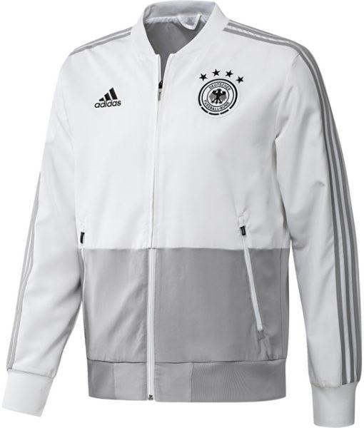 adidas ドイツ 17/18 トレーニング プレゼンテーション ジャケット White 1