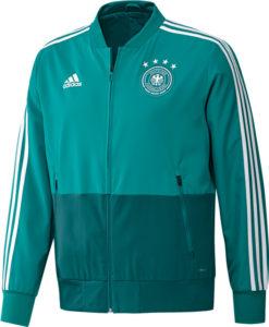 adidas ドイツ 17/18 トレーニング プレゼンテーション ジャケット Green