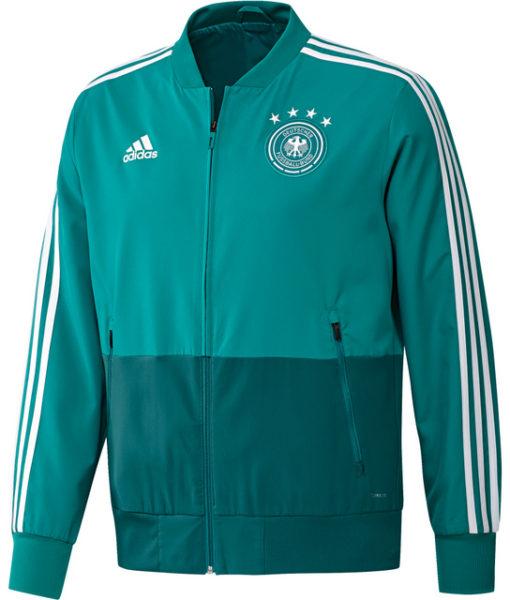 adidas ドイツ 17/18 トレーニング プレゼンテーション ジャケット Green 1