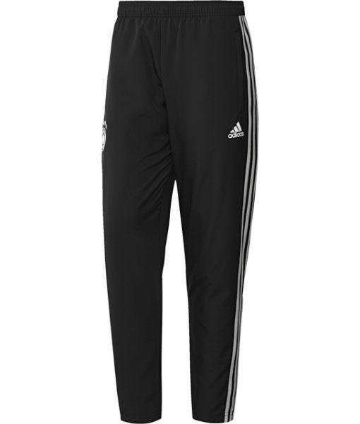 adidas ドイツ 17/18 トレーニング ウーブン パンツ Black 1