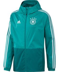 adidas ドイツ 17/18 トレーニング レイン ジャケット Green