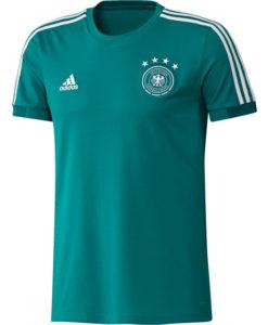 adidas ドイツ 17/18 トレーニング Tシャツ Green