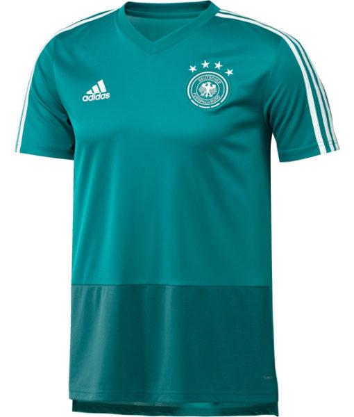 adidas ドイツ 17/18 トレーニング ジャージー Green 1