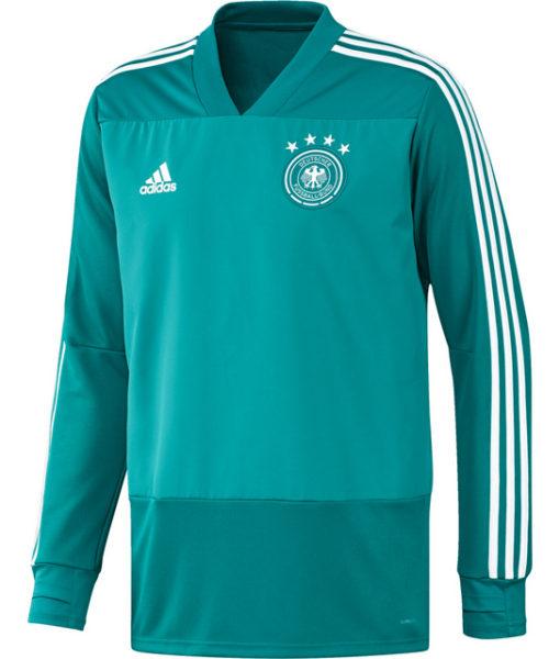 adidas ドイツ 17/18 トレーニング トップ Green 1