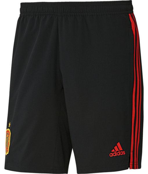 adidas スペイン 17/18 トレーニング ウーブン ショーツ Black 1