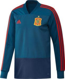 adidas スペイン 17/18 トレーニング トップ Blue