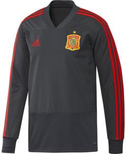 adidas スペイン 17/18 トレーニング トップ