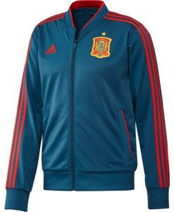 adidas スペイン 17/18 トレーニング トラック ジャケット Blue