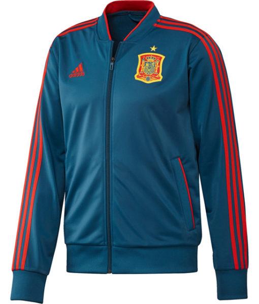 adidas スペイン 17/18 トレーニング トラック ジャケット Blue 1