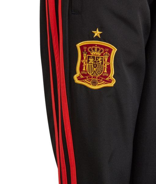 adidas スペイン Kids 17/18 トレーニング ウーブン パンツ Black