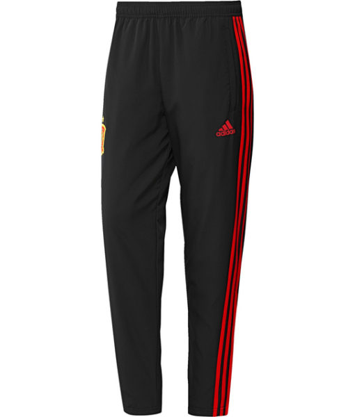 adidas スペイン 17/18 トレーニング ウーブン パンツ Black 1
