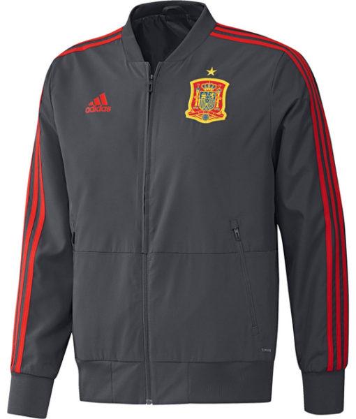 adidas スペイン 17/18 トレーニング プレゼンテーション ジャケット  1