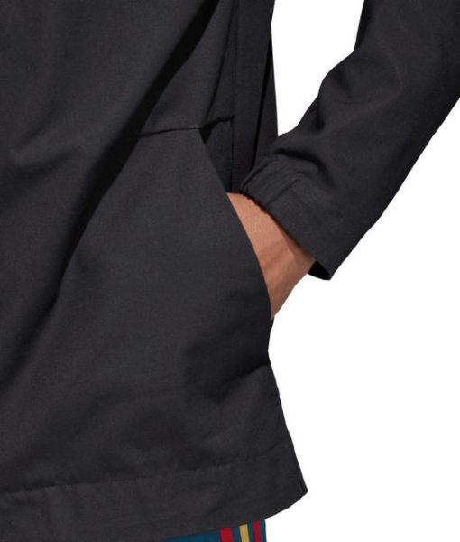 adidas スペイン 17/18 ZNE ウーブン アンセム ジャケット Black