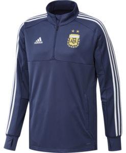 adidas アルゼンチン 17/18 トレーニング クォータージップ トップ