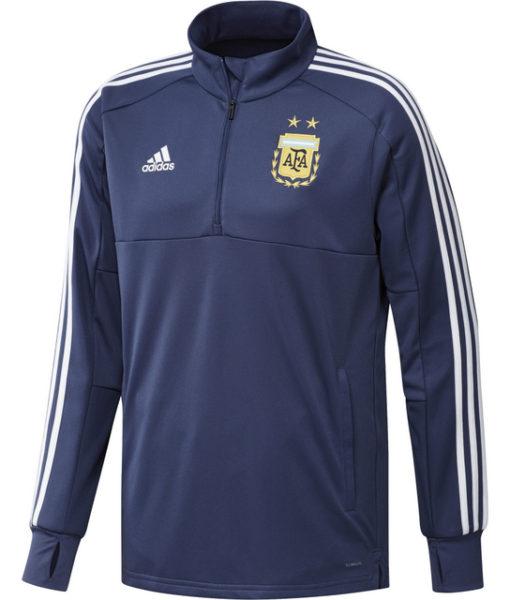adidas アルゼンチン 17/18 トレーニング クォータージップ トップ  1