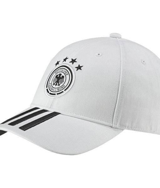 adidas ドイツ 17/18 3ストライプ キャップ White 1