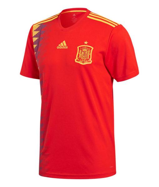 adidas スペイン 2018 ホーム シャツ  1