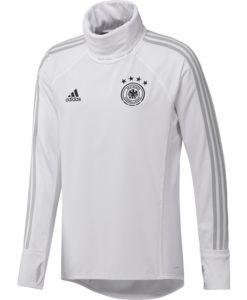 adidas ドイツ 17/18 トレーニング ウォームアップ トップ White