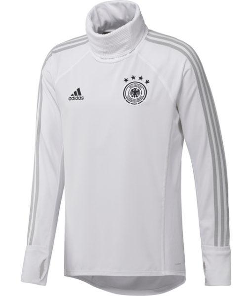 adidas ドイツ 17/18 トレーニング ウォームアップ トップ White 1