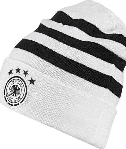 adidas ドイツ 17/18 ニット キャップ White 1