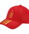 adidas スペイン 17/18 3ストライプ キャップ Red