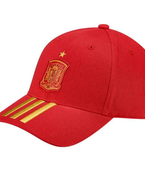 adidas スペイン 17/18 3ストライプ キャップ Red 1