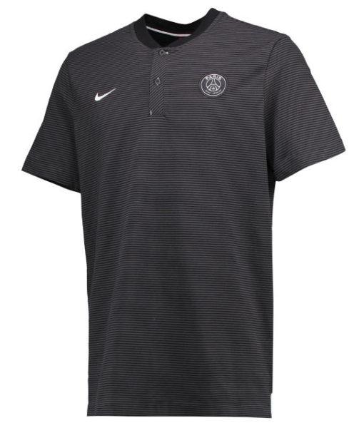 NIKE パリ サンジェルマン 17/18 オーセンティック グランドスラム ポロシャツ Black 1