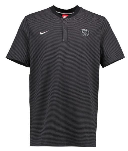 NIKE パリ サンジェルマン 17/18 オーセンティック グランドスラム ポロシャツ Black