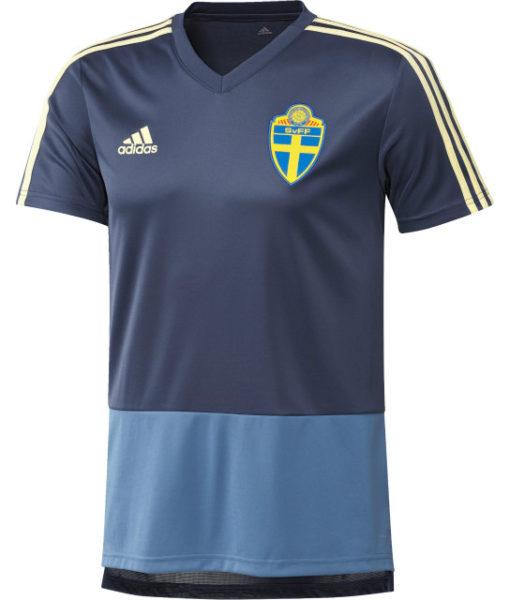 adidas スウェーデン 17/18 トレーニング ジャージー Blue 1