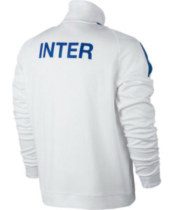 NIKE インテル 17/18 オーセンティック トラック ジャケット White