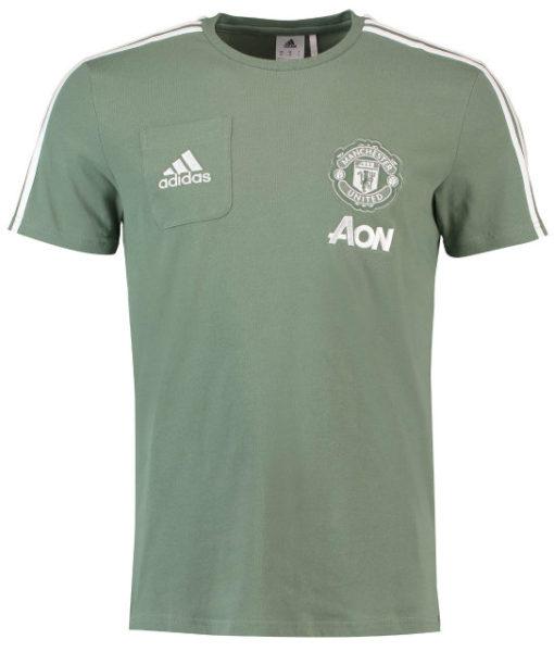 adidas マンチェスターユナイテッド 17/18 トレーニング Tシャツ Green