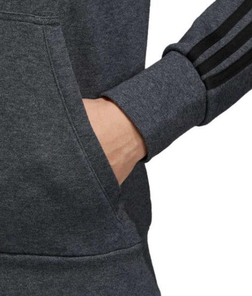 adidas マンチェスターユナイテッド 17/18 3ストライプ フルジップ パーカー