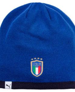 PUMA イタリア 2018 ニットキャップ Blue
